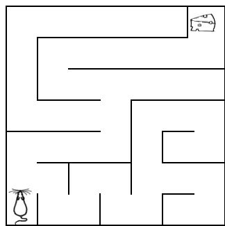 Very Easy Maze Free Printable Mazes Pictures To Pin On